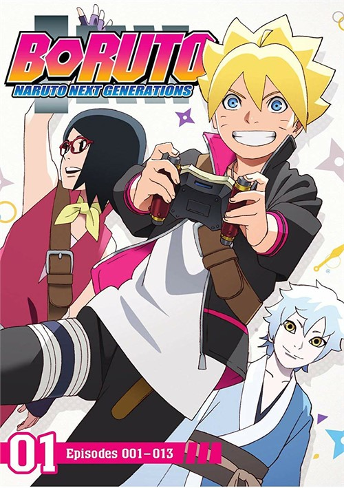 Boruto: Naruto Next Generations - Set 1 (DVD/2 DISC)