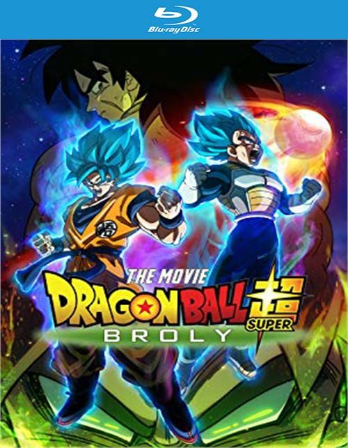 Dragon Ball Super - Broly The Movie (BLU-RAY/DVD/DIGITAL/ENGLISH-SUB)
