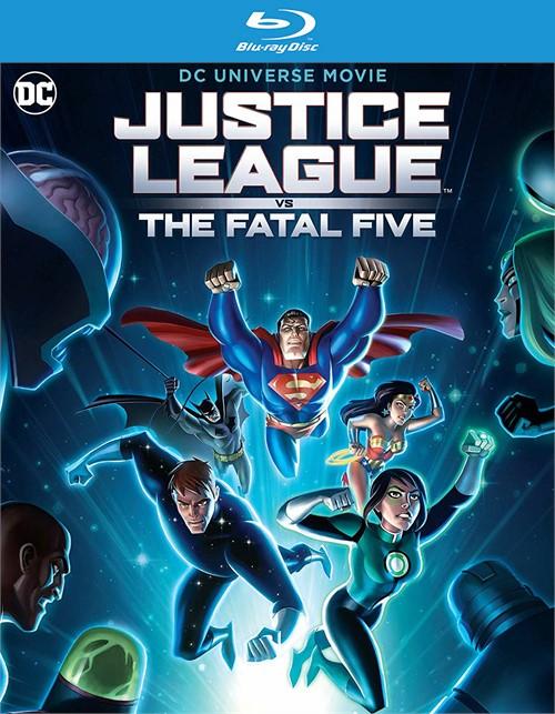 Justice League vs The Fatal Five (BLU-RAY/4K-UHD/DIGITAL)