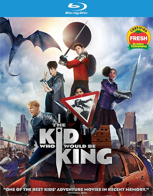Kid Who Would Be King, The (4K-UHD/BLU-RAY/DHD/2 DISCS)
