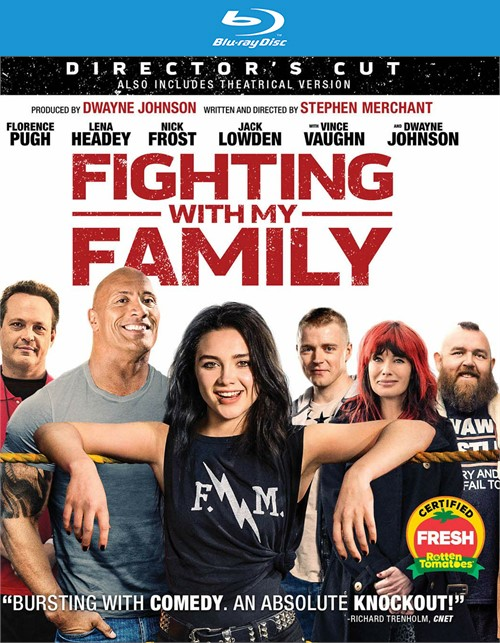 Fighting With My Family (BLU-RAY/DVD/DIGITAL)