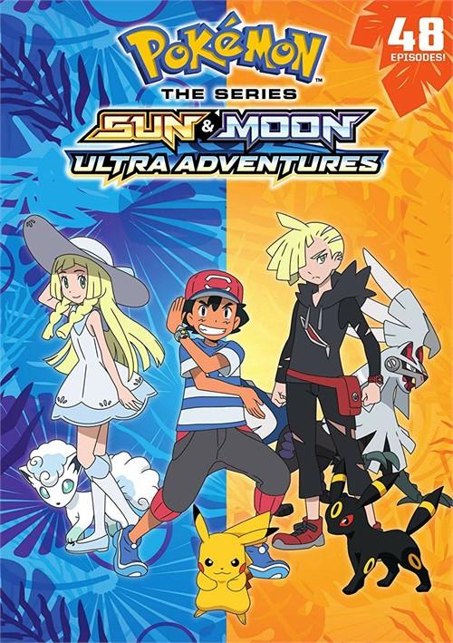 Pokemon Sun and Moon: Ultra Adventures (DVD/6 DISC)