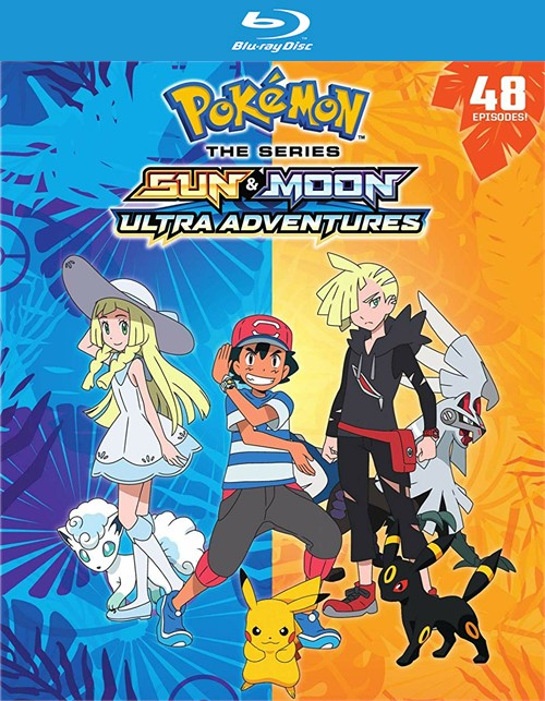 Pokemon Sun and Moon: Ultra Adventures (BLU-RAY/6 DISC)
