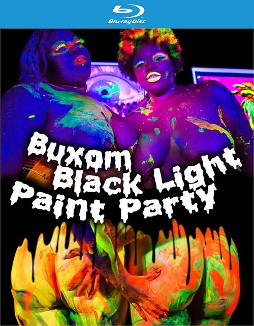 Buxom Black Light Paint Party