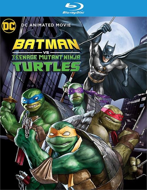 Batman vs Teenage Mutant Ninja Turtles (BLU-RAY/DVD/DIGITAL/2 DISC)