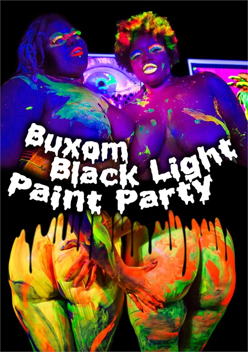 Buxom Black Light Paint Party