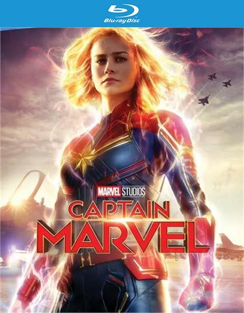 Captain Marvel (Blu-ray+DVD+Digital)
