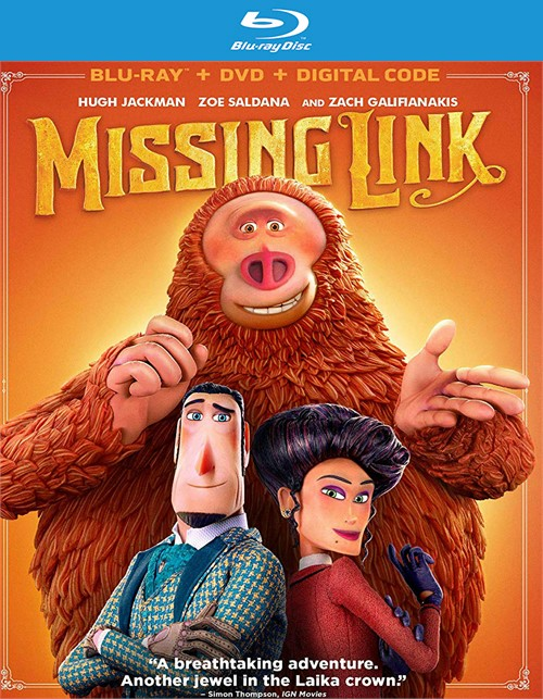 Missing Link (BLURAY/DVD)