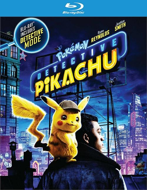 Pokemon: Detective Pikachu (BLURAY/4KUHD/DIGITAL)