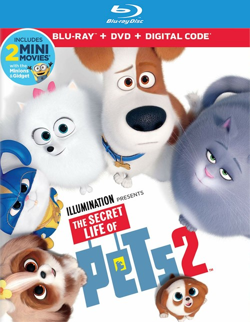 Secret Life of Pets 2, The (BLURAY/DIGITAL)