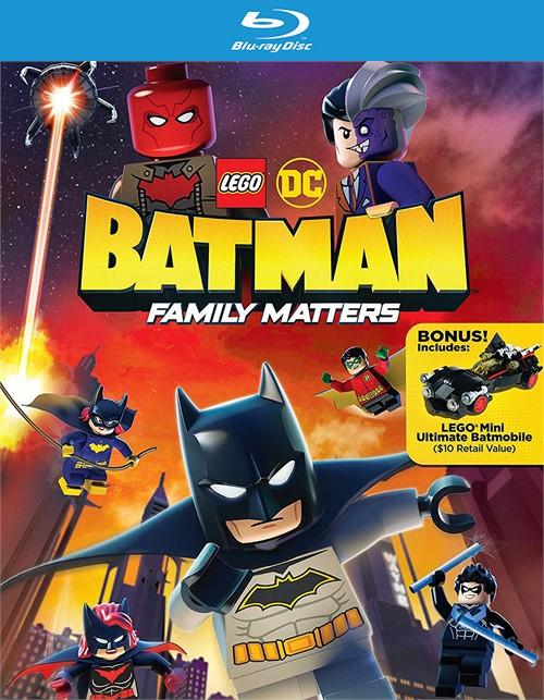 Lego DC Batman: Family Matters (BLURAY/BONUS BATMOBILE)