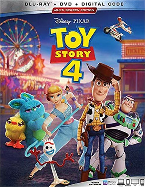 Toy Story 4(bluray+DVD+digital)