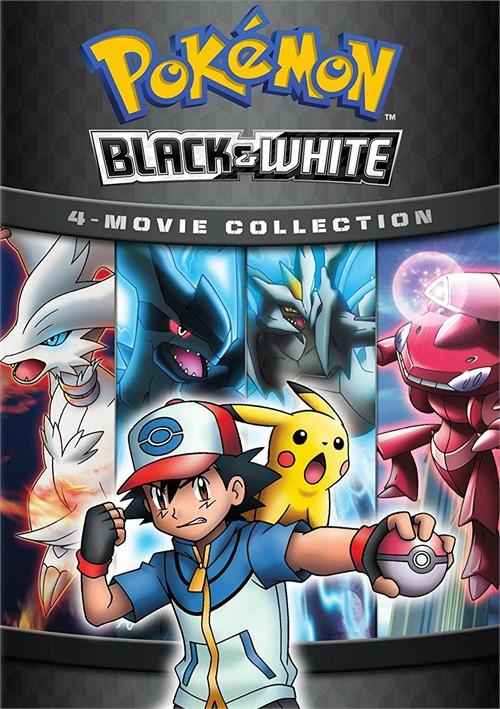 Pokemon Black & White 4-Movie Collection