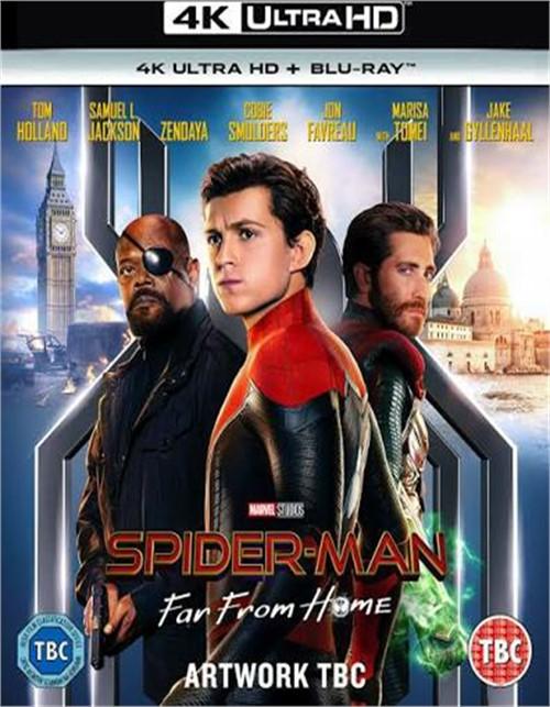 Spider-Man: Far From Home (4K/BR/W-DIGITAL)