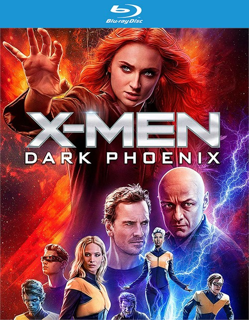 X-men: Dark Phoenix (4K/BLURAY/DIGITAL)