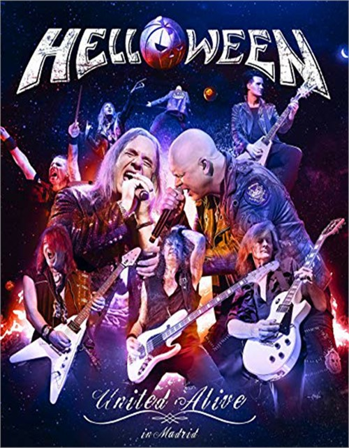 Helloween: United Alive in Madrid (Blu)