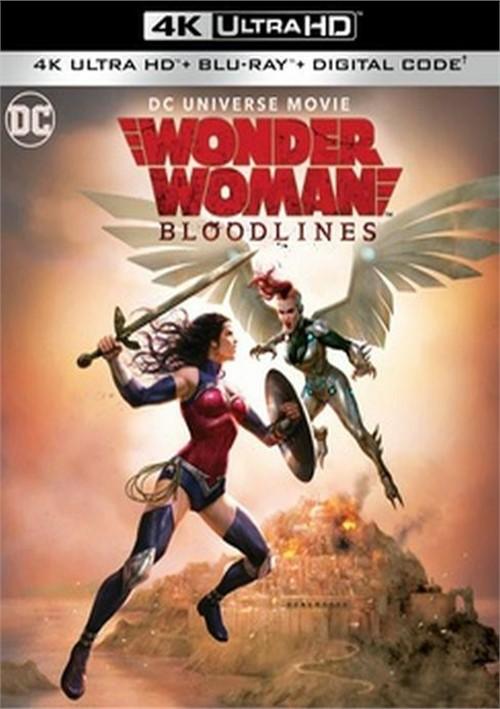 Wonder Woman: Bloodlines (4K+Blu-ray+Dig)