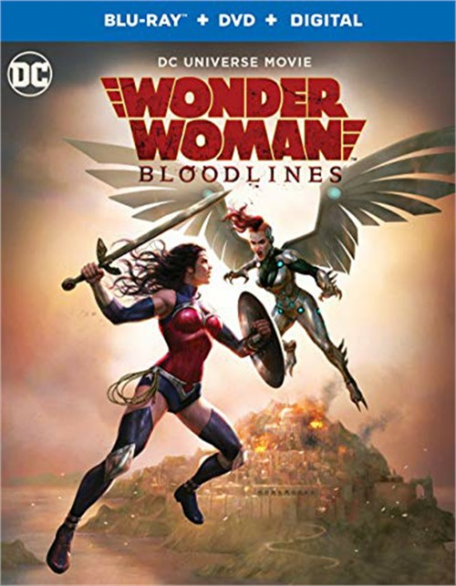 Wonder Woman: Bloodlines (Blu-ay+DVD+Digital)