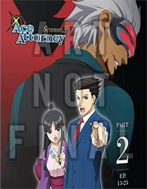 Ace Attorney: Season Two, Part Two (Blu-ray+DVD+Digital)