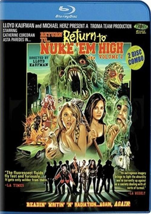 Return to Return to Nuke Em High AKA Volume 2 (Blu-ray)
