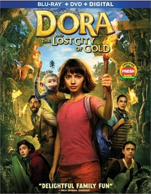 Dora and the Lost City of Gold (Blu-ray+DVD+Digital)