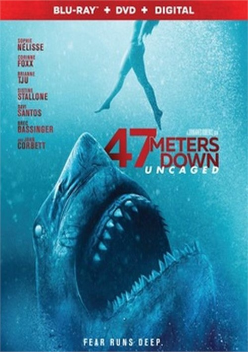 47 Meters Down: Uncaged (Blu-ray+DVD+Digital)