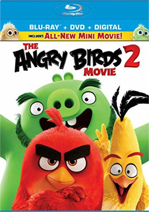 Angry Birds Movie 2, The (Blu-ray+DVD+Digital)