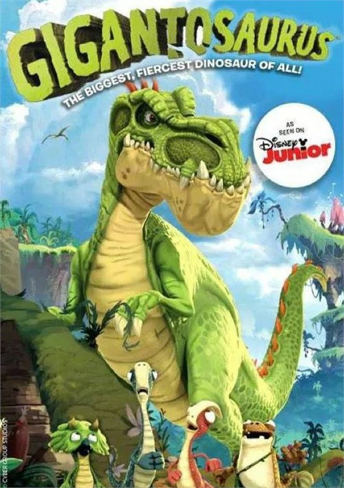 Gigantosaurs: The Biggest Fiercest Dinosaur