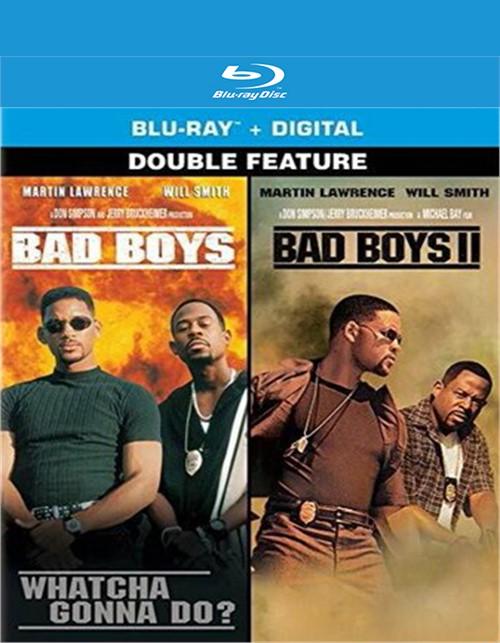 Bad Boys/Bad Boys 2: Double Feature (Blu-ray + Digital)