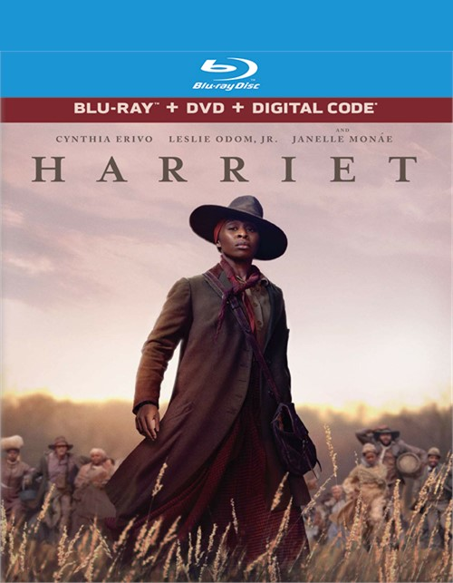 Harriet (Blu-Ray + DVD + Digital)