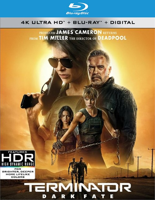 Terminator: Dark Fate (4K Ultra HD + Blu-Ray + Digital)