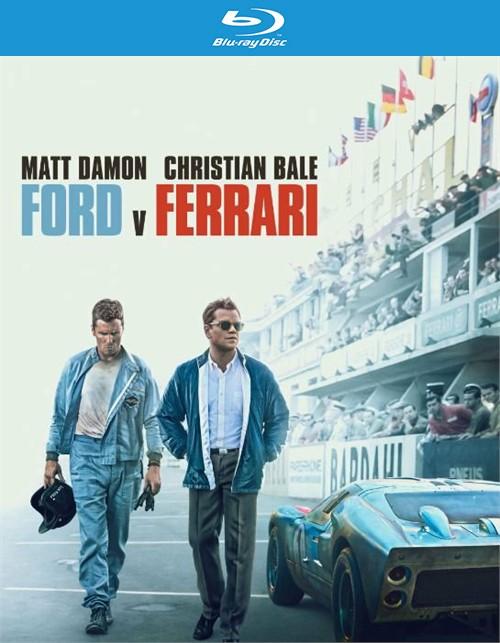 Ford V Ferrari (Blu-Ray + DVD +  Digital)