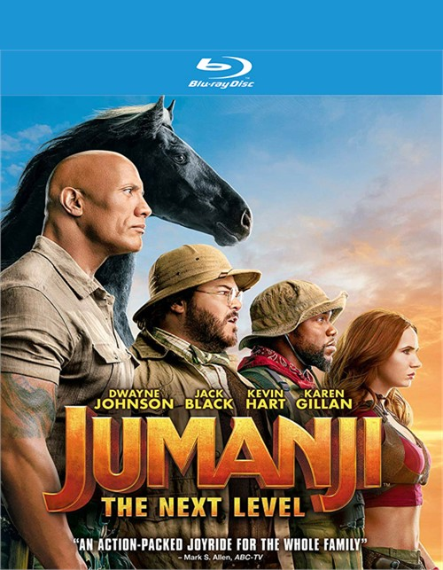 Jumanji: The Next Level (Blu-ray + DVD + Digital)