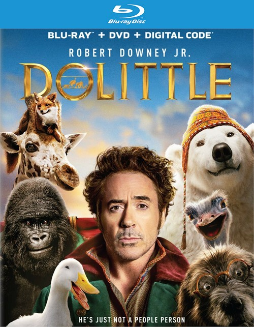 Dolittle (Blu-ray + DVD + Digital)
