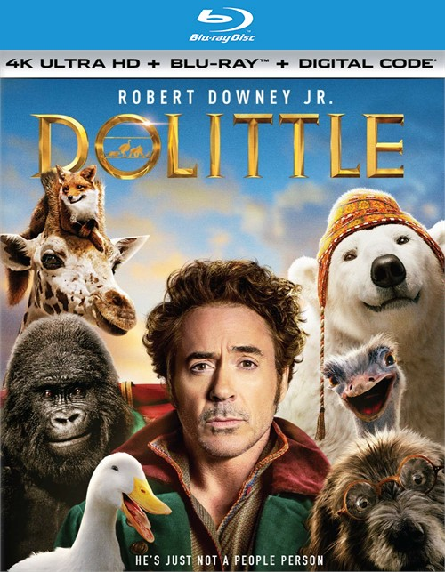 Dolittle (4K Ultra HD + Blu-ray + Digital)