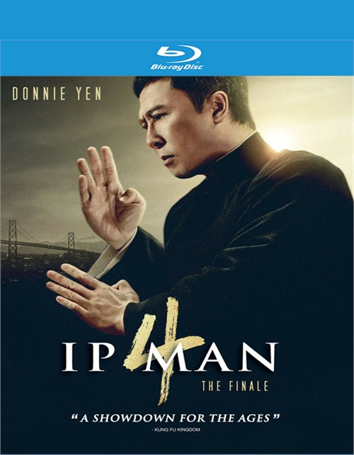 Ip Man 4: The Finale (Blu-ray + DVD)