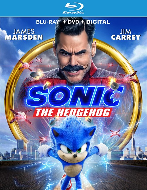 Sonic The Hedgehog Movie (Blu-ray/DVD/Digital/2 Disc)