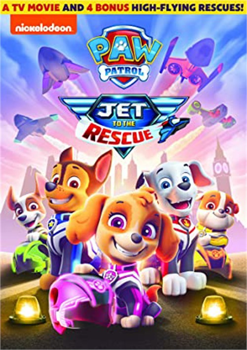 Paw Patrol-Jet to the Rescue