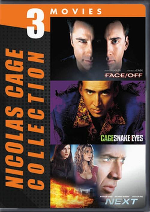 Nicolas Cage-3 Movie Collection