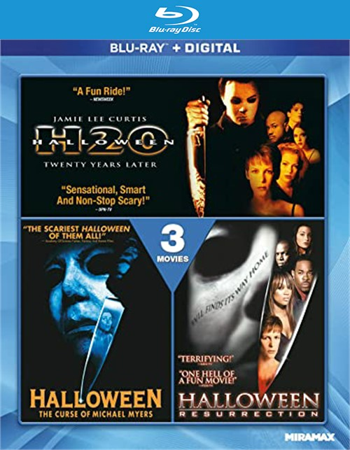 Halloween-3 Movie Collection (Blu-ray + Digital)