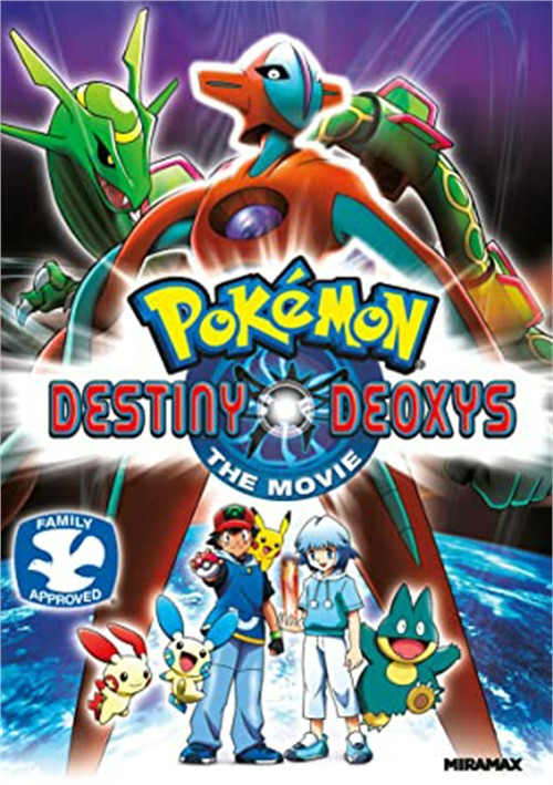 Pokemon Destiny Deoxys The Movie (Theatrical Version)