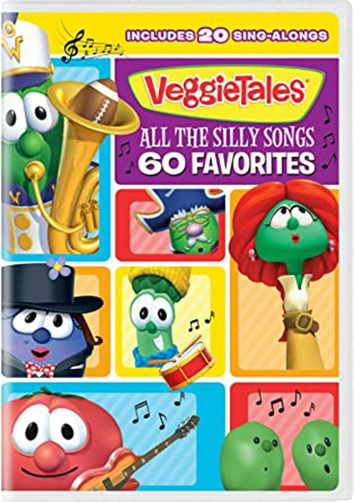 Veggie Tales: All the Silly Songs-60 Favorites
