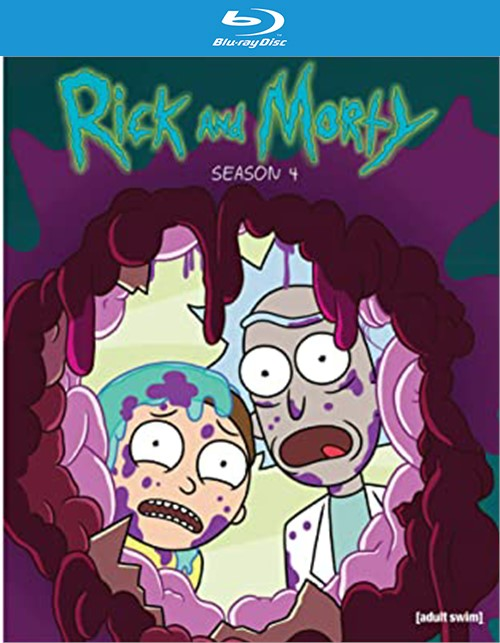 Rick & Morth: The Complete Season Four (Blu-ray)