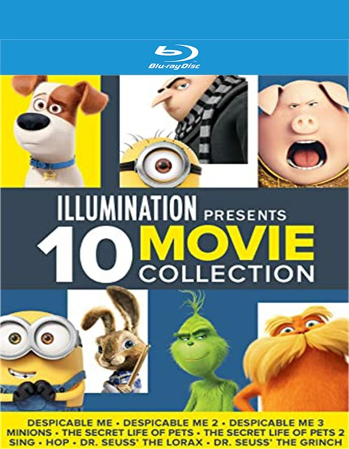 Illumination Presents: 10 Movie Collection (Blu-ray + Digital)