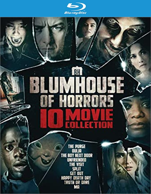 Blumhouse of Horrors 10-Movie Collection (Blu-ray + Digital)