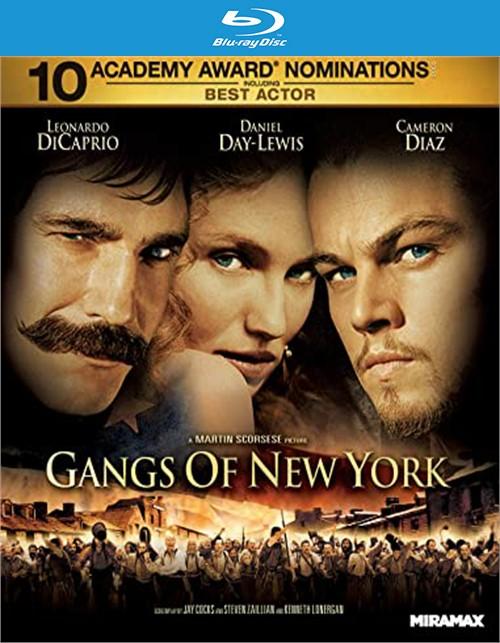 Gangs of New York (Theatrical Version Blu-ray + Digital)