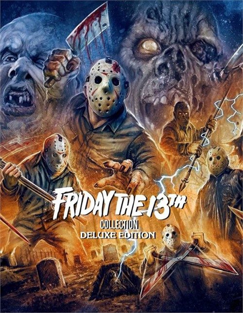 Friday The 13th Collection - Deluxe Edition (Blu-Ray)