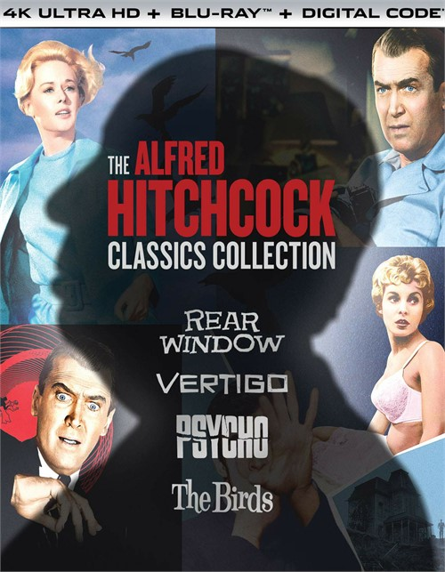 Alfred Hitchcock Classics Collection, The (4K UHD/Blu-Ray/Digital)