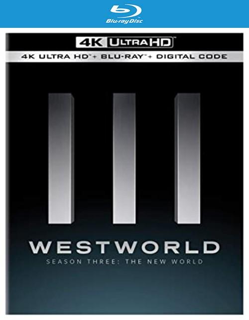Westworld: The Complete Third Season - The New World (4K Ultra + Blu-ray + Digital)