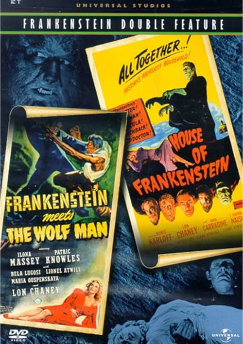 Frankenstein Meets The Wolf Man/ House Of Frankenstein (Double Feature)